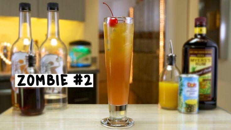 ZOMBIE #2 2 oz. Dark Rum 2 oz. White Rum 1/2 oz. Grenadine 1 oz. Pineapple Juice 1 oz. Orange Juice 1/2 oz. Bacardi 151 PREPARATION 1. Fill a glass with ice and pour over dark rum, white rum, grenadine, pineapple juice, and orange juice. 2. Top with Bacardi 151 and stir. DRINK RESPONSIBLY!
