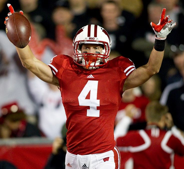 jared abbrederis Wisconsin Badgers #4