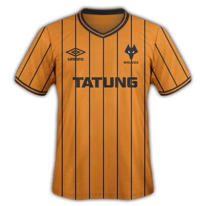 Wolves 1982-1986 Home Shirt