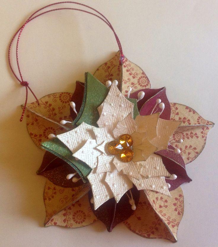 Xmas ornament by 2 crafty chicks