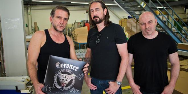 Iconic Thrash Pioneers CORONER Coming Back with New Studio Album in 2017!