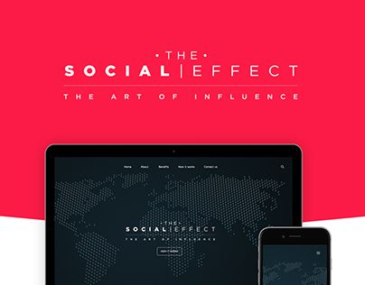 """Check out new work on my @Behance portfolio: """"The Social Effect"""" http://be.net/gallery/43387183/The-Social-Effect"""