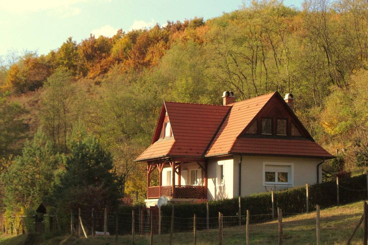 The house standing right on the Slovakian Hungarian border surrounded by woods with a view on Karancs Mountain