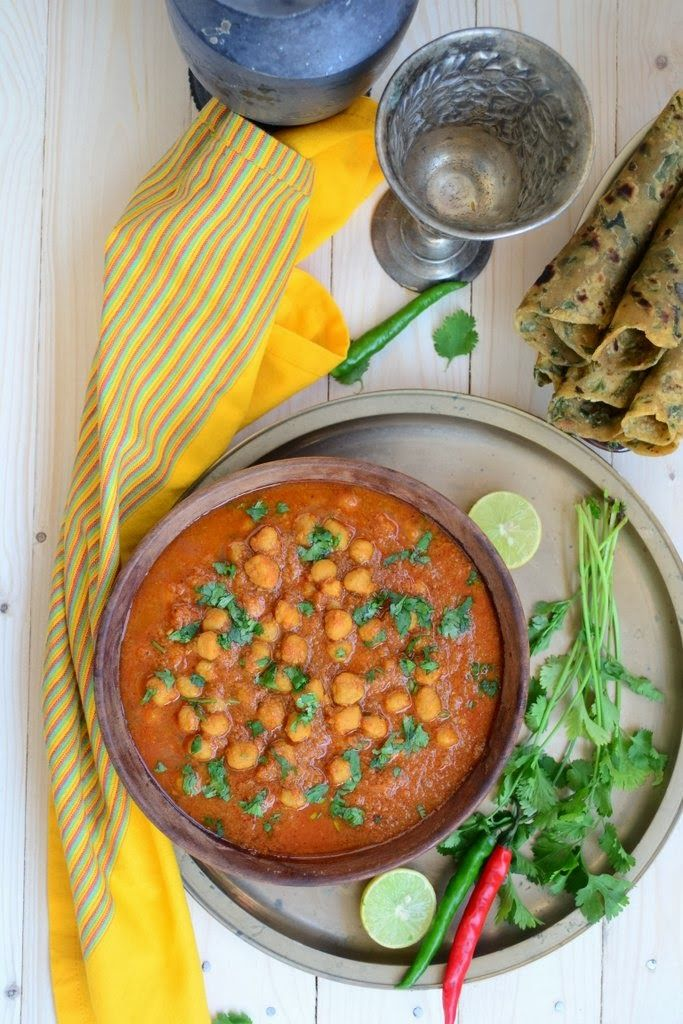Rajasthani Ram Channe..authentic Indian curry! #india #recipes #vegetarian