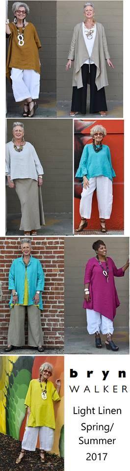BRYN WALKER Light Linen Collection Spring/Summer 2017