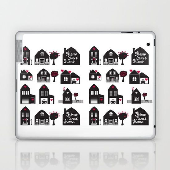 Home Sweet Home. Dreams and Memories. Laptop & iPad Skin