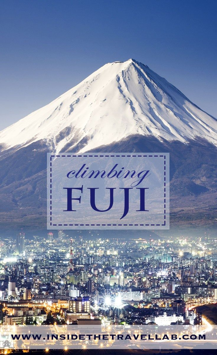 Climbing Mt Fuji – As a Day Trip from Tokyo
