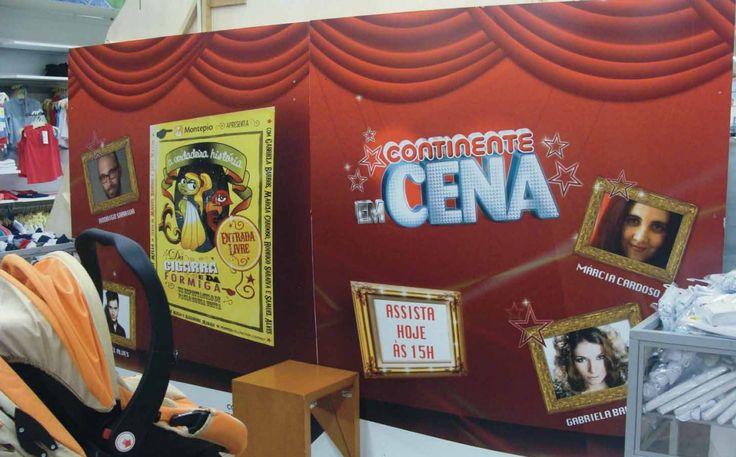 """Muitos parabéns à UP Partner que venceu mais um Índio de Bronze, nos POPAI Portugal Awards de 2014. Desta vez, com uma campanha em loja intitulada """"Continente em Cena""""."""