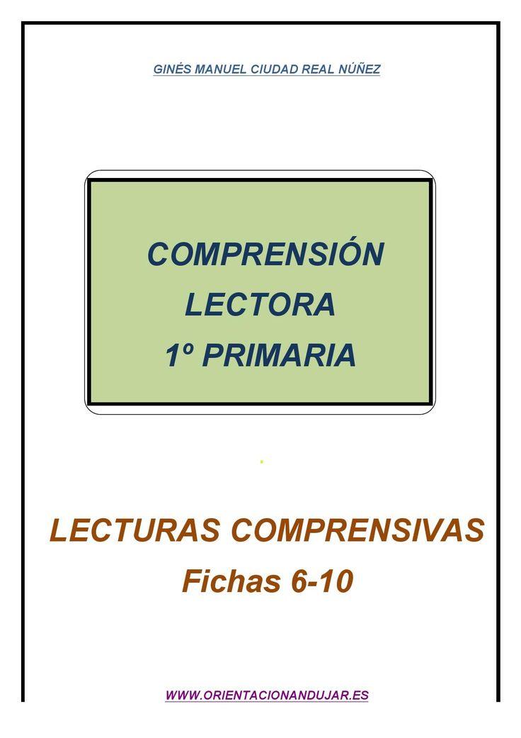 ISSUU - Comprensión lectora 1º de primaria - fichas 6-10 - de Educación Primaria
