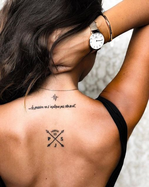 Perfect placement tattoo ideas for women – tattoos are very popular