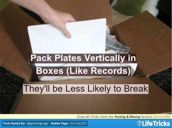 Packing moving pack plates vertically in boxes like for Moving to washington dc advice