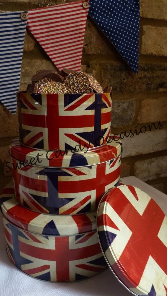 British bespoke sweet buffet table by sweet candy occasions