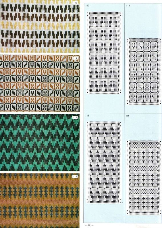 333 best TRICOT JACQUARD images on Pinterest | Knitting charts ...