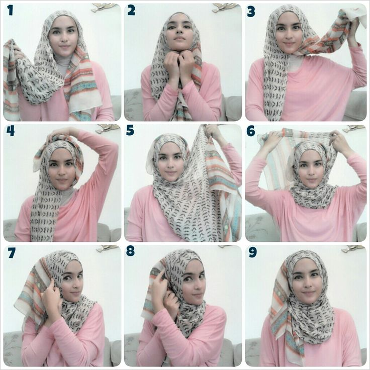 Hijab Tutorial. Probably my everyday signature style. :)