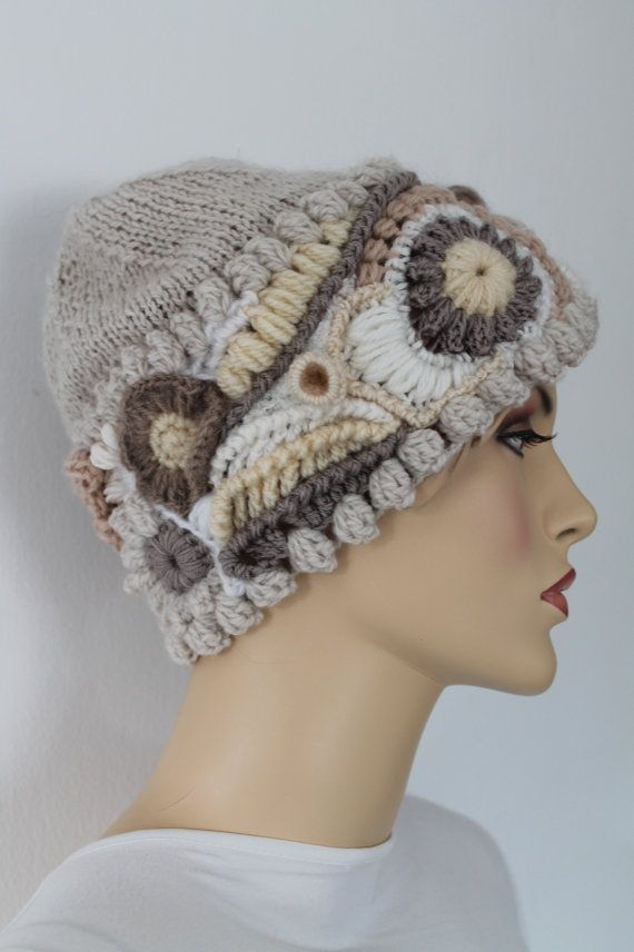 Freeform Crochet Hat Winter Accessories ♡♥ by levintovich, $78.00
