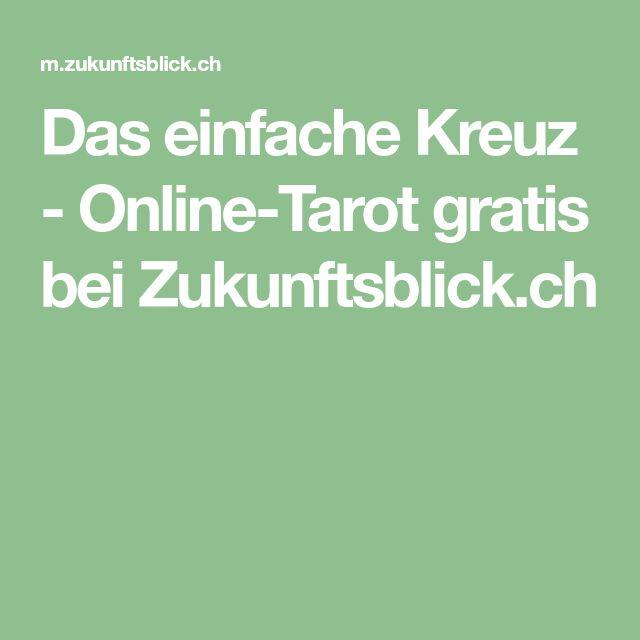 Das einfache Kreuz - Online-Tarot gratis bei Zukunftsblick.ch