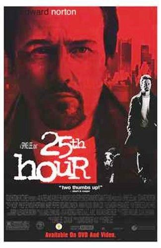 25th Hour Movie Poster 27x40 used