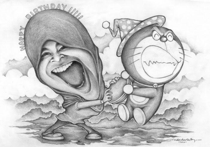 Fantastis 30 Gambar Kartun Keren Dan Mudah- 20 Gambar Karikatur ...