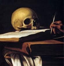 Caravaggio - St Jerome (detail)