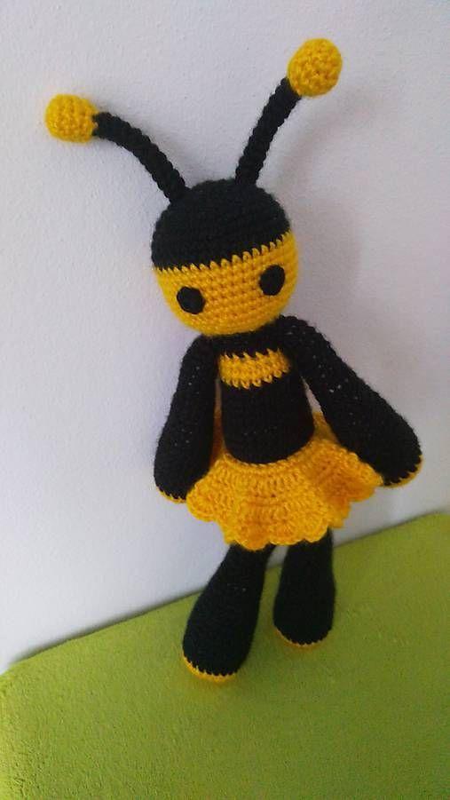 Jamin / Lady V crochet bee