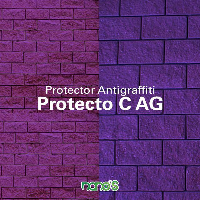 Producto especializado contra el graffiti, plumones, tintas, humedad, agua y manchas. Protección para superficies minerales no pintadas.