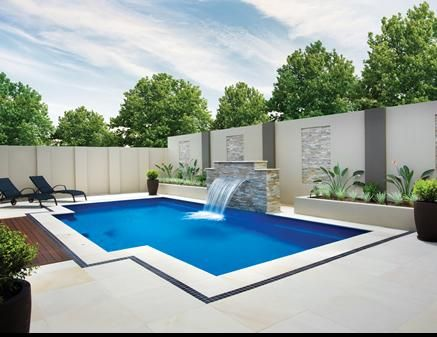 Swimming pool garden design  671 best Swimming pools images on Pinterest | Houses with pools ...