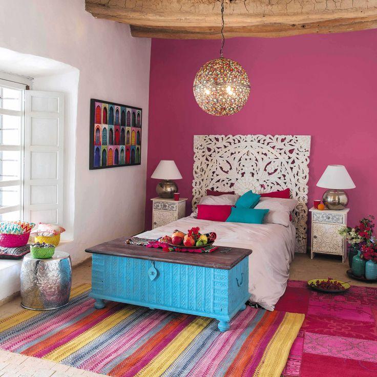 toile multicolore 80 x 140 cm bahia maisons du monde mdm exotique pinterest indien. Black Bedroom Furniture Sets. Home Design Ideas