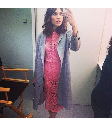 @Who What Wear - Alexa Chung                  @Burberry     FOLLOW: @chungalexa (Instagram), @alexa_chung (Twitter)