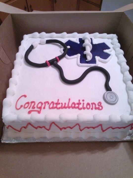 Emt Graduate Cakes