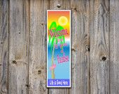 $14.95 Welcome To Paradise, Funny Novelty Sign, Tropical Sign