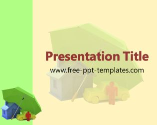 Insurance PowerPoint Template is a yellow template with appropriate background image which you can use to make an elegant and professional PPT presentation. This FREE PowerPoint template is perfect for presentations that are related to different kinds of insurance such as car insurance, life insurance etc, it's also perfect for presentations about insurance companies.
