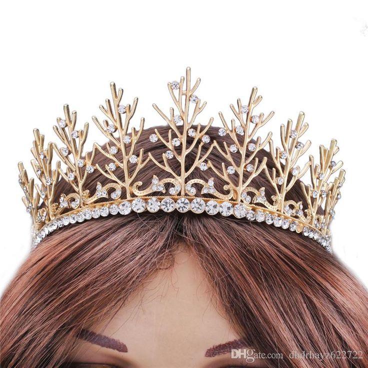 Easy Beach Wedding Hairstyles: Simple Beach Wedding Crowns For Women 2016 Gold Western
