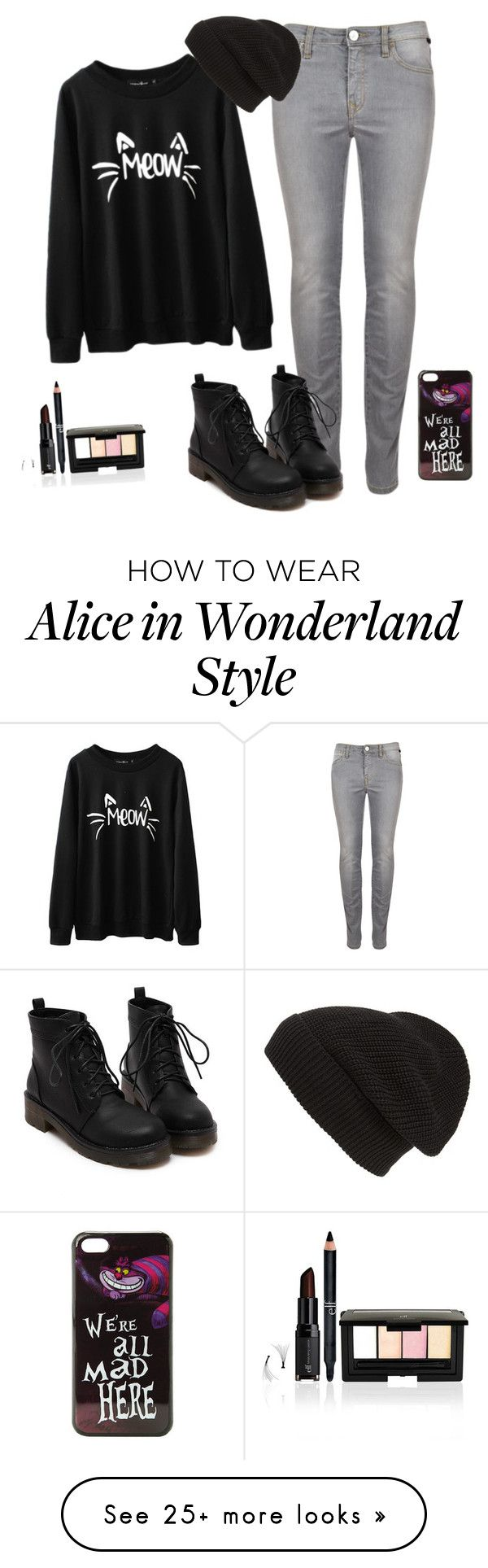 """""""cat"""" by ceciliapersson-1 on Polyvore featuring Phase 3 and Disney"""