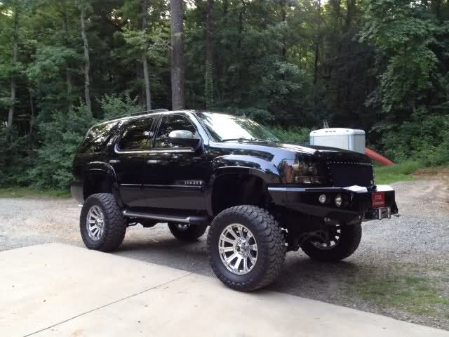 Chevy+Tahoe+Z71+Lifted   Lifted 2008 Chevrolet Tahoe z71 - Pirate4x4.Com : 4x4 and Off-Road ...