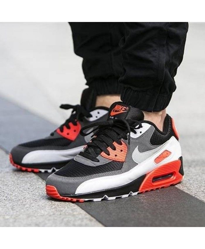 Nike Air Max 90 Infrared Inverted Trainer Mens Sale UK