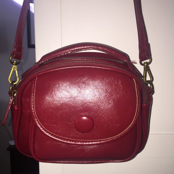 Urban outfitters cooperative purse/ cross body bag Cooperative by Urban Outfitters red purse. Comes with shoulder strap. Send offers Urban Outfitters Bags Crossbody Bags