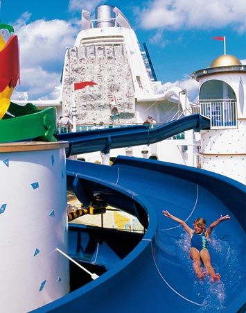 Radiance Of The Seas water slide.... kids are going to love this!!!