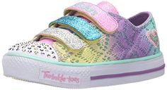 Skechers Kids Twinkle Toes-Chit Chat Light-Up Strap Sneaker (Toddler/Little Kid)