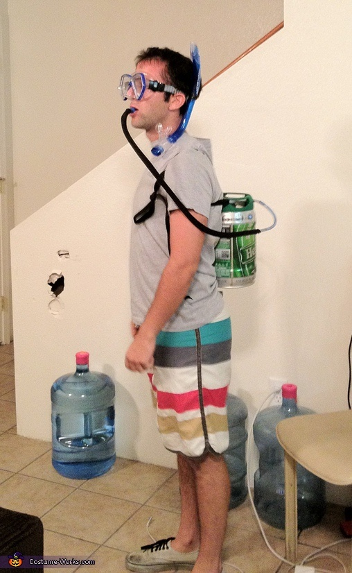 scuba keg homemade costumes for men - Homemade Men Halloween Costumes