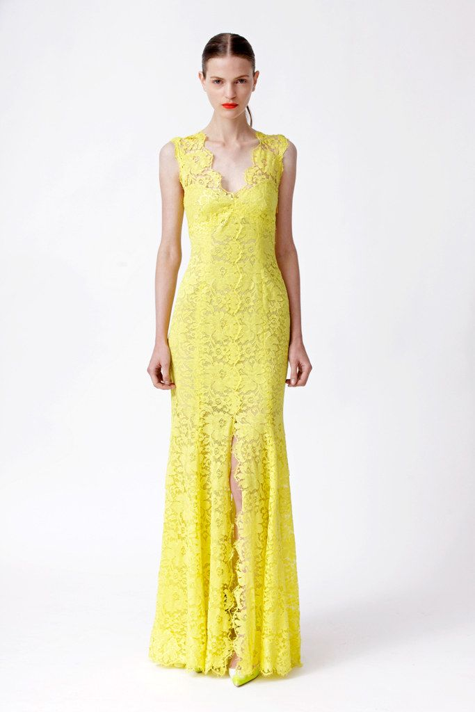 uk online fashion stores Monique Lhuillier Resort 2013 Collection Photos   Vogue