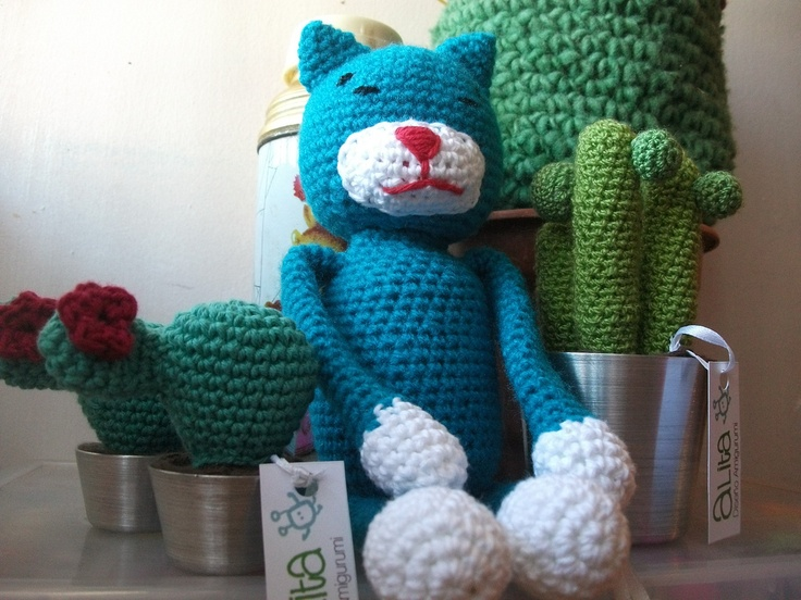 45 best images about crocheted cats on Pinterest Free ...