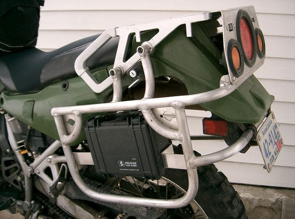 Pelican tool box on KLR - ADVrider