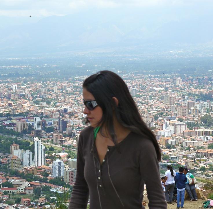 View of Cochabamba, Bolivia from El Cristo. (Photo by Raul Vasquez)