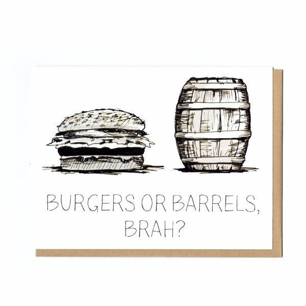 Pilar Prints - Burgers or Barrels