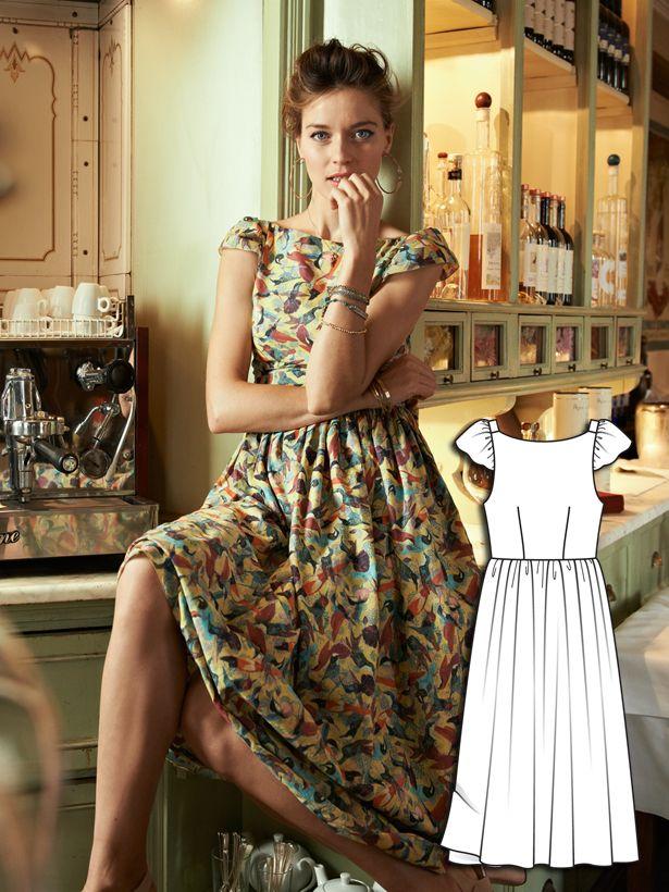 Blooming Dreams: 11 New Sewing Patterns – Sewing Blog | BurdaStyle.com