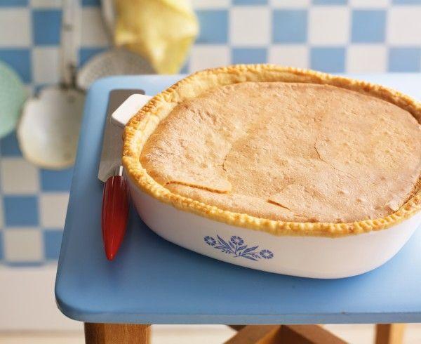 Earl grey tea pie
