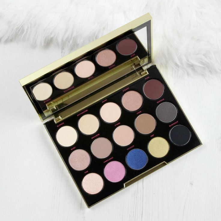 Urban Decay Gwen Stefani Eyeshadow Palette | Carly's Beauty Blog
