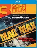 3 Sci-Fi Film Favorites: The Terminator/Mad Max/Escape from New York [Blu-ray]