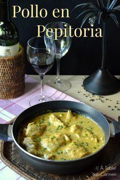 Pues no, aunque el Pollo en Pepitoria es un plato tradicional, no puedo contaros que es un plato de los que se viene cocinando en ...