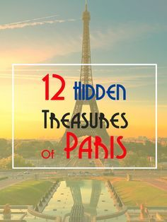 I reveal 12 Little-Know sites of Paris. Discover some all which are worth a visit the next time you are in Paris. You might be surprised by some suggestions http://www.talkinfrench.com/best-secret-paris/ Don't hesitate to share